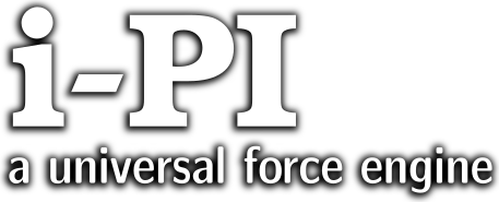 i-PI: a universal force engine – Move atoms getting the forces from your favorite modelling software